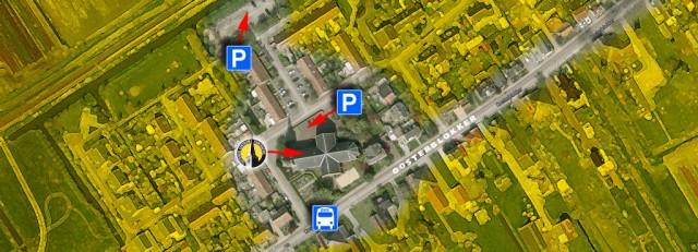 landkaart-parkeren